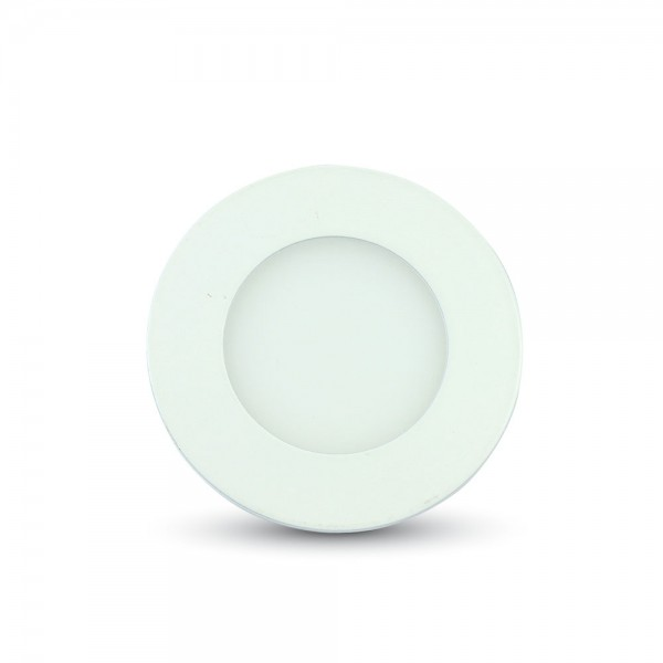 Downlight LED 3W Redondo Blanco 4000ºK