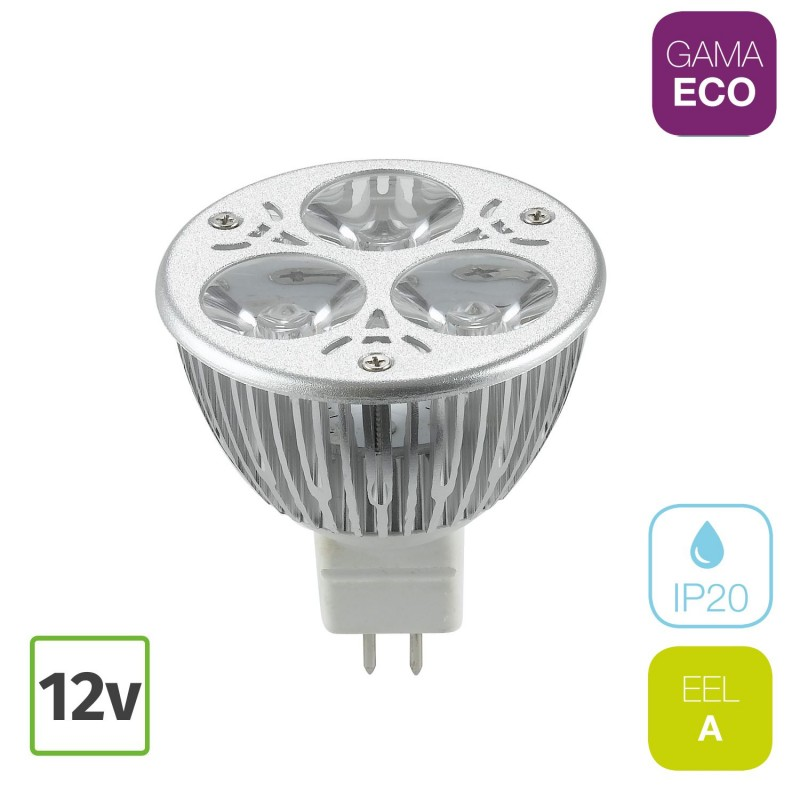 Bombilla LED MR16 4W GU5.3