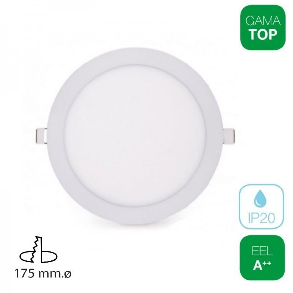 Downlight LED 16W Redondo Blanco