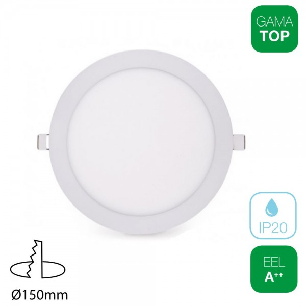 20x Downlight LED 13W Redondo Blanco