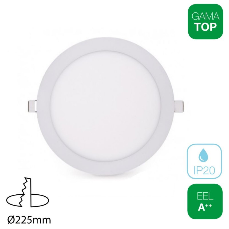 Downlight LED 22W Redondo Blanco