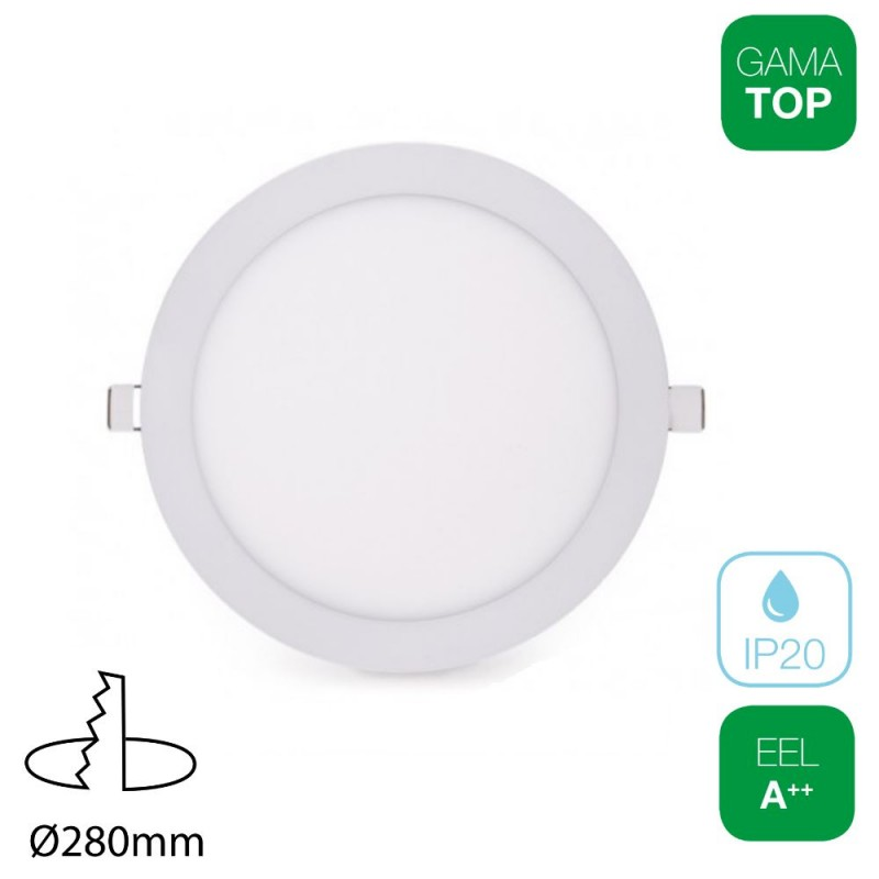 Downlight LED 24W Redondo Blanco