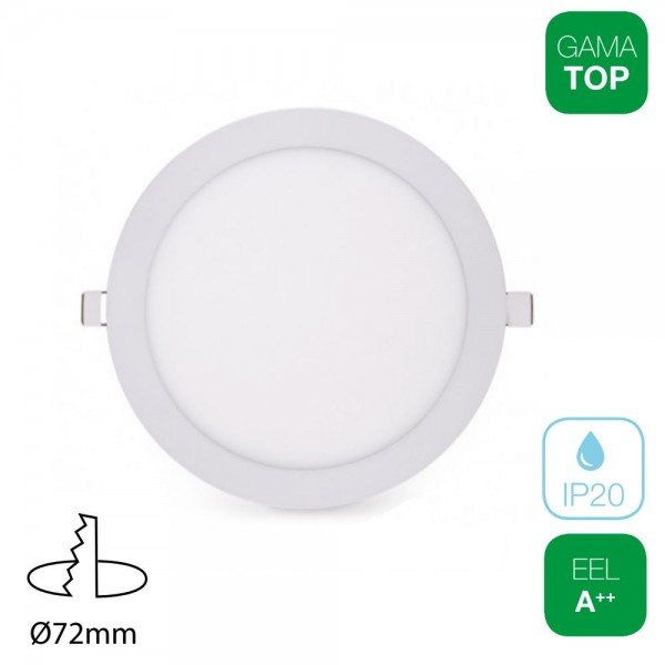 Downlight LED 4W Redondo Blanco