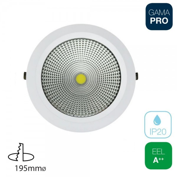 Downlight COB 25W Redondo Blanco