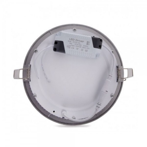 Downlight LED 7W Redondo Plata