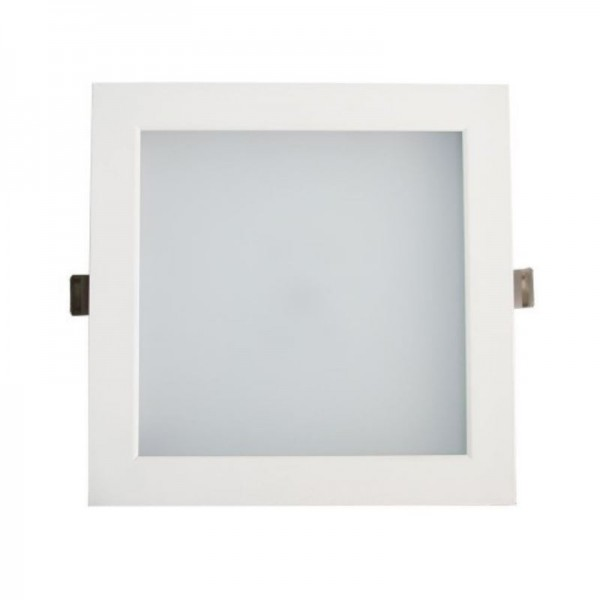 Downlight LED SMD 25W Cuadrado Blanco