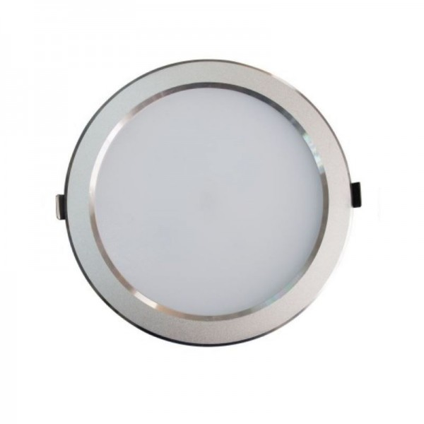 Downlight LED SMD 25W Redondo Plata