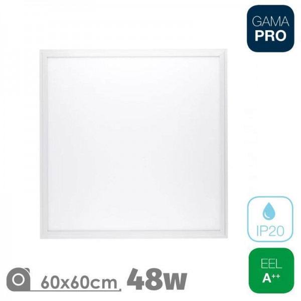 Panel LED 60x60 48W Pro Marco Blanco