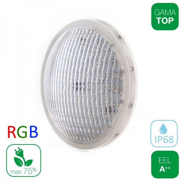 Lámpara LED Piscina PAR56 27W RGB