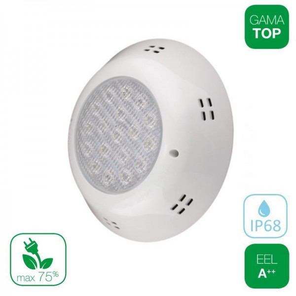Lámpara LED Superficie Piscina PAR56 25W