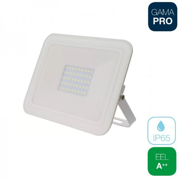 Proyector LED 30W Slim Blanco