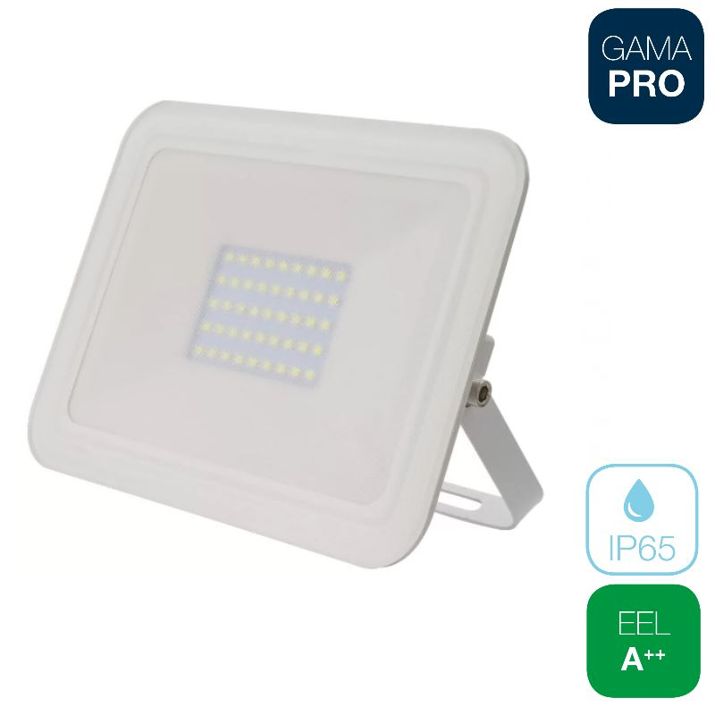 Proyector LED 50W Slim Blanco